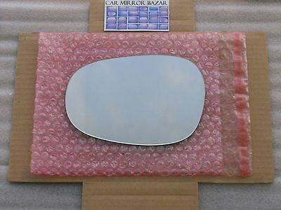 HEATED Mirror Glass with BACK PLATE for BMW 128 135 323 328 335 M3 Passenger Side View Right RH
