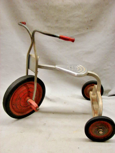 Vintage 1970's kids Angelus Aluminum Tricycle Trike bike