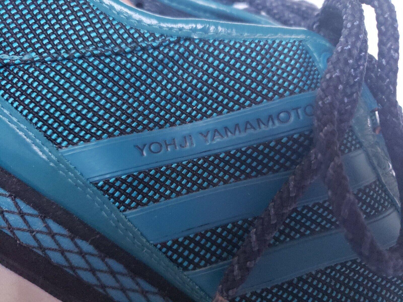 Yohji Yamamoto Y3 Adidas Sneaker Blue Athletic Shoe 2008 Men Size 8 42.5 663001
