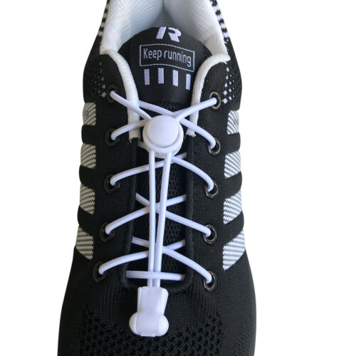 3pair No Tie Elastic athletic lock laces shoelaces for sneakers kids adult shoes