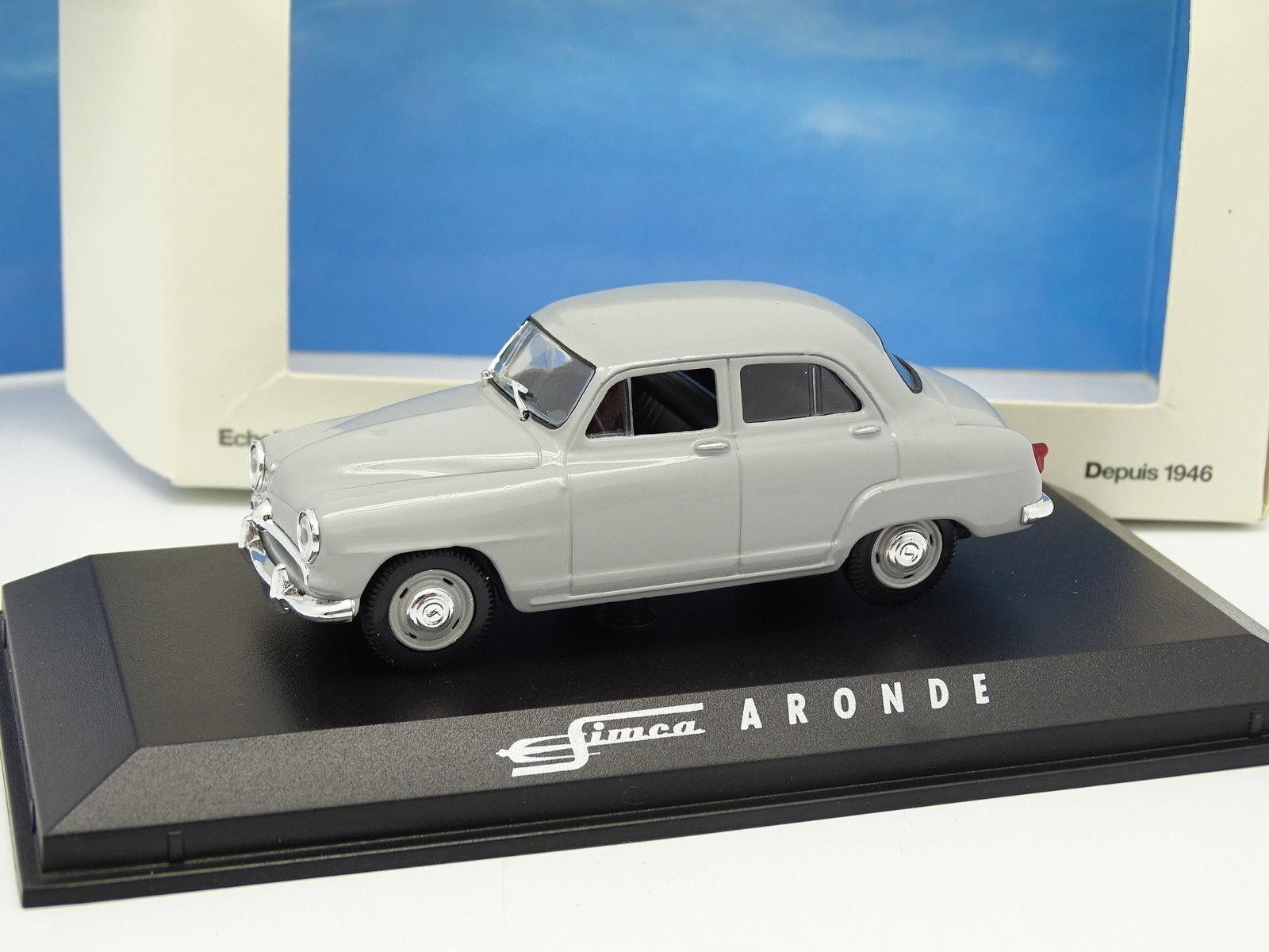 Norev 1 43 - Simca Aronde Grigia