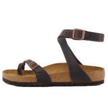b5700be7fd8b Birkenstock YARA0013391 HABANA Yara Birkenstock sandal in brown habana  leather ,