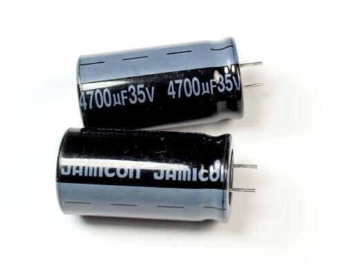 10pcs Jamicon SK 4700uF 35v Radial Electrolytic Capacitor