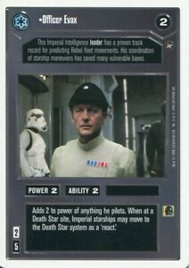 Star Wars CCG A New Hope Unlimited WB Double Agent