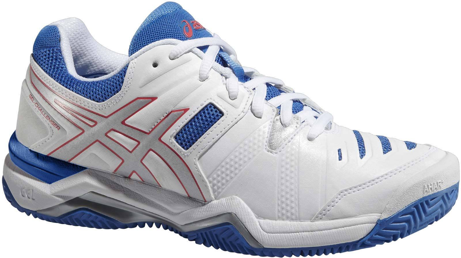 E555Y Womens asics Gel-Challenger 10 Clay Court Tennis shoes Trainers Size 7.5 8