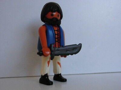 Playmobil Figur Pirat Soldat mit Holzbein