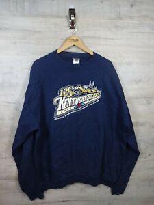 VTG-90s-Kentucky-Derby-1999-Sweatshirt-Sweater-Pullover-REFA-18-XXL