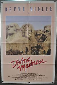 Divine-Madness-A-Original-One-Sheet-Movie-Poster-1980-27-x-41