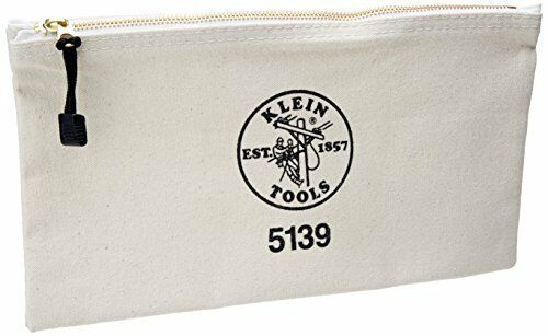 Klein Tools 12 1 2 In Canvas Zipper Bag 5139