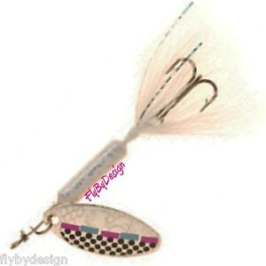 NEW-Rooster-Tail-Tinsel-SHAD-Spinner-Fishing-Lures-Choice-of-Size-amp-Quantity