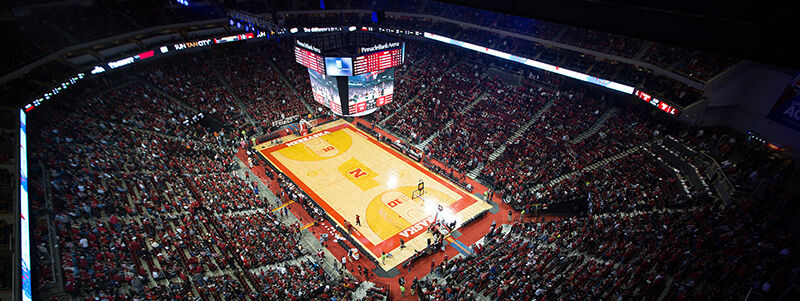 Michigan Wolverines at Nebraska Cornhuskers Basketball