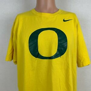 145d727d Nike Oregon Ducks Logo T-Shirt Size XL Yellow NCAA College Pac 12 ...
