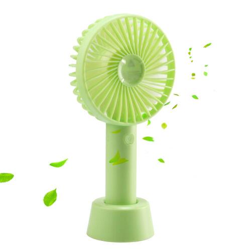 Handheld Fan USB et Piles à double usage Mini Ventilateur électrique de bureau en plein air Ventilateur Silencieux