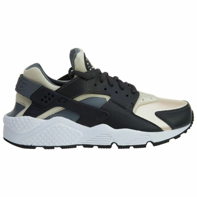 Nike Air Huarache Run Womens 634835-019 Oatmeal Grey Size 5 (No Box Lid 894980368