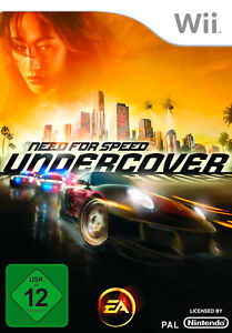 Need for Speed: Undercover - Nintendo Wii (NICHT WII U KOMPATIBEL!) (NEU & OVP!)