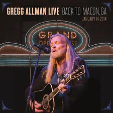 Gregg Allman Live: Back To Macon, GA - 2CD & DVD Set Neu