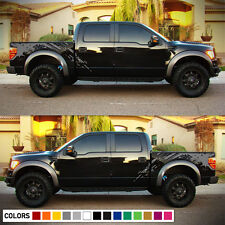 Decal Sticker Graphic Bed Splash Kit for Ford Raptor SVT F150 Panel Door Sill