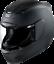 Icon Small Airmada Rubatone Black Full Face Motorcycle Helmet
