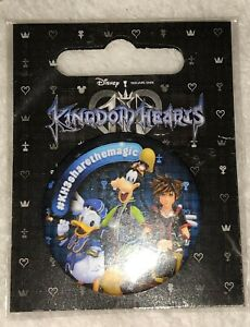 Kingdom-Hearts-3-III-Promo-Button-Badge-Rare-Promo-Gamescom-EGX-Pin-limited