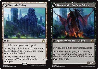 Westvale Abbey // Ormendahl, Profane Prince x4 PL Magic the Gathering 4x rare