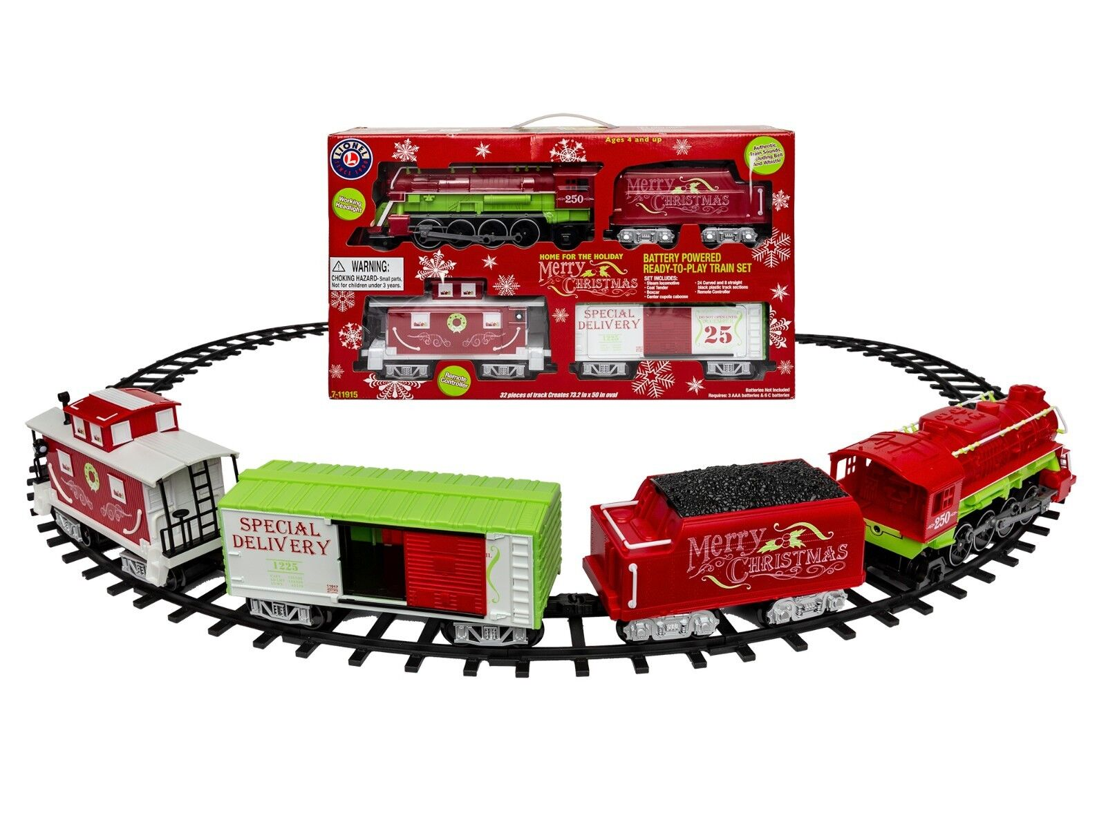 Lionel 7-11915 Home For The Holiday Ready-to-Play set