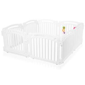 Parque Corralito Puerta Robusto Pástico Bebé Niños Barrera Seguridad Baby Vivo