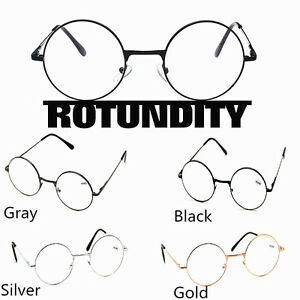 e82d06616e5 Men Women Vintage Small Round Oval Metal Frame Reading Glasses ...