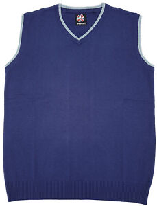 Warrior-UK-England-Blue-Tank-Top-Sleeveless-Pullover-Pullunder-Skinhead-Mod-Oi