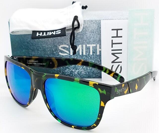 ef4ee5db316 NEW Smith Lowdown sunglasses Flecked Tort Green Sol-X Polarized  129 MSRP  green