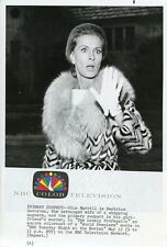 DINA MERRILL REACTS THE LONELY PROFESSION ORIGINAL 1970 NBC TV PHOTO