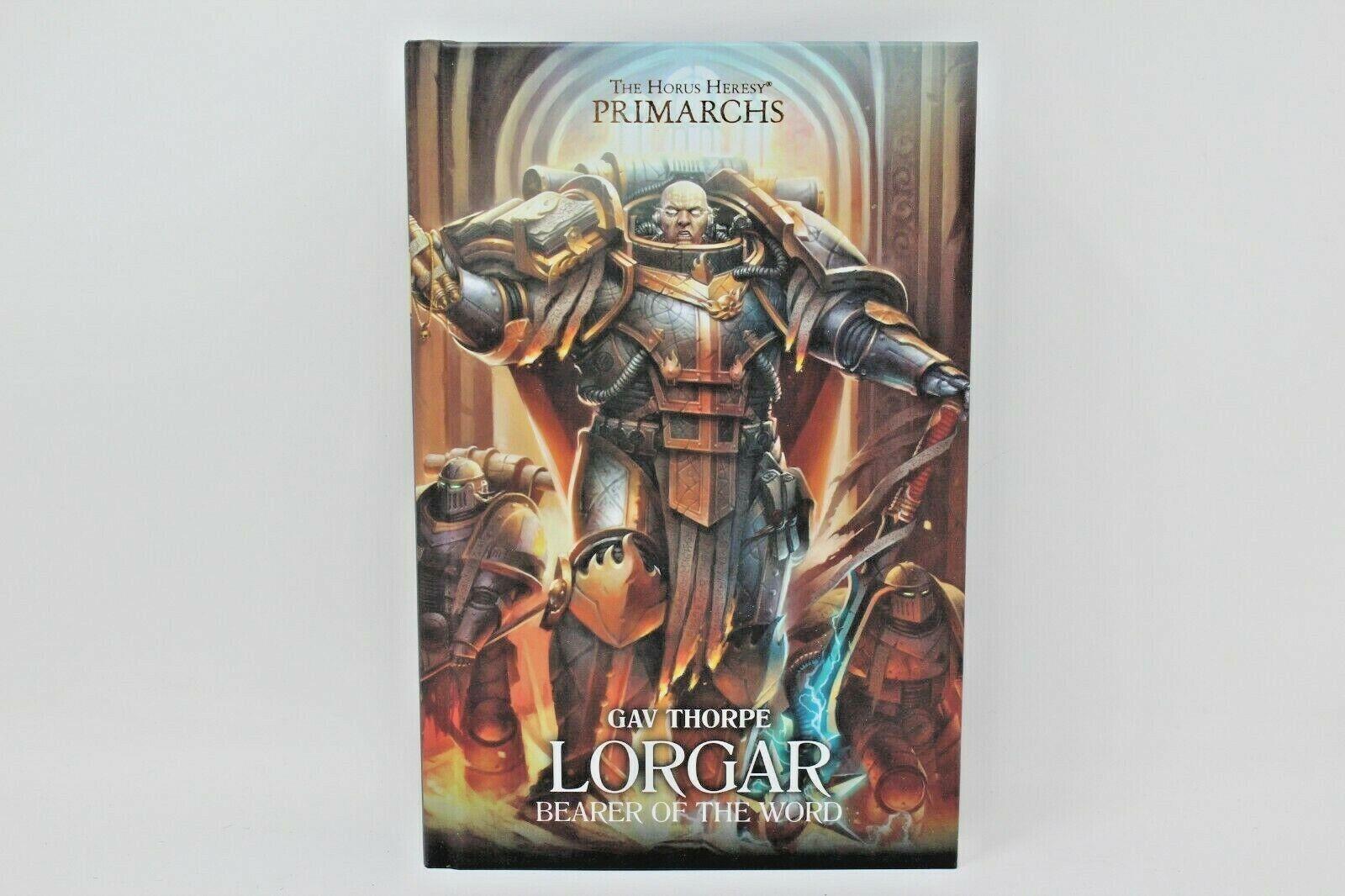 Warhammer Novel Lorgar Bearer Of The Word Hard Cover