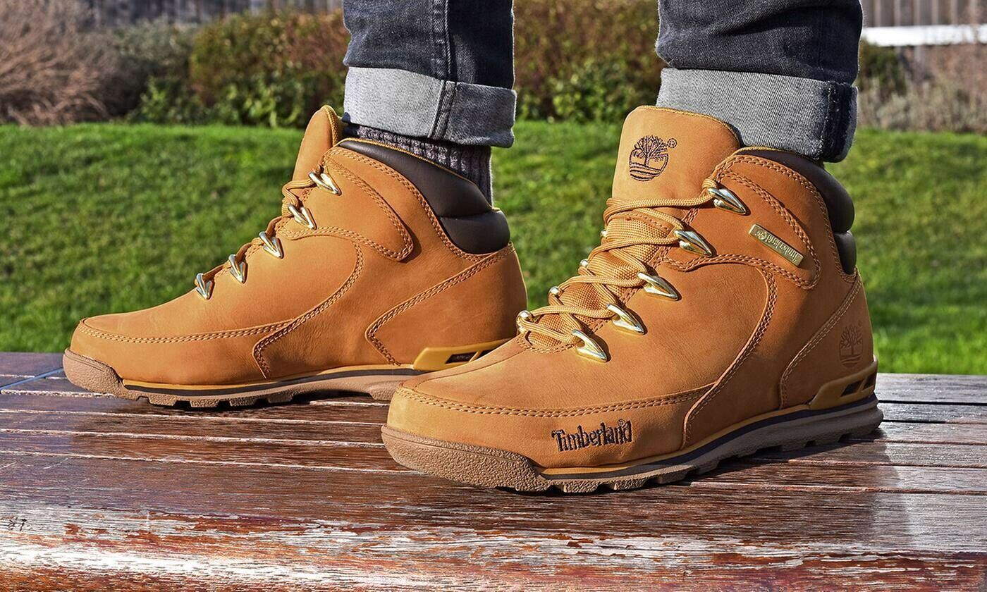 Timberland Euro Hiker Rock Men's Boots, Size 10 Brown