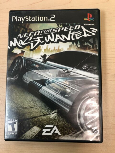 Need for Speed: Most Wanted (Sony PlayStation 2, 2005)