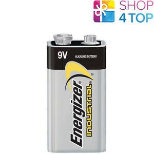 1-ENERGIZER-ALKALINE-6LR61-BATTERY-9V-INDUSTRIAL-E-BLOCK-6AM6-MN1604-EN22-NEW