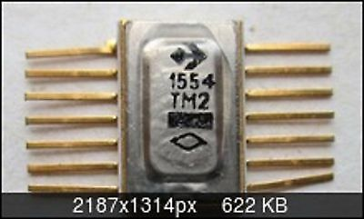 Microchip USSR  Lot of 2 pcs KR1554KP12 = 74AC253 IC