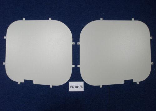 02-14 Std Roof Van Guard Rear Window Security Blank for Vauxhall Vivaro
