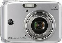 General Imaging Ge A1050 Digitalkamera (10,1 Megapixel, 5-fach Opt. Zoom, Silber