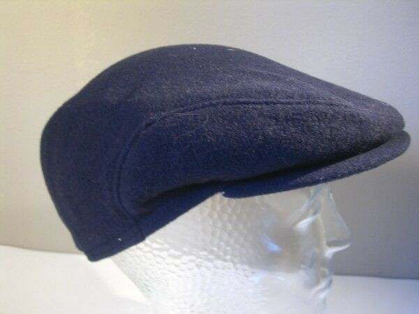Hat Cap Cap Flatcap Big 56 Dark bluee Original Vintage
