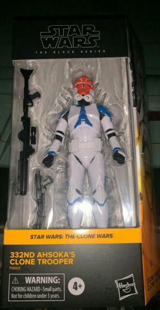 Star Wars Black Series The Clone Wars 332nd Ahsoka Clone Trooper In Hand 24 hr
