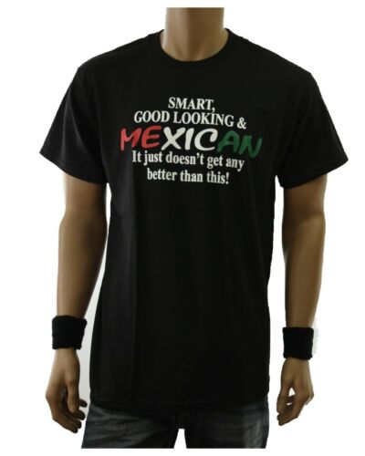 Men Graphic T-Shirt MEXICO Humor Funny Casual Spanish Fashion Spanish HIPSTER