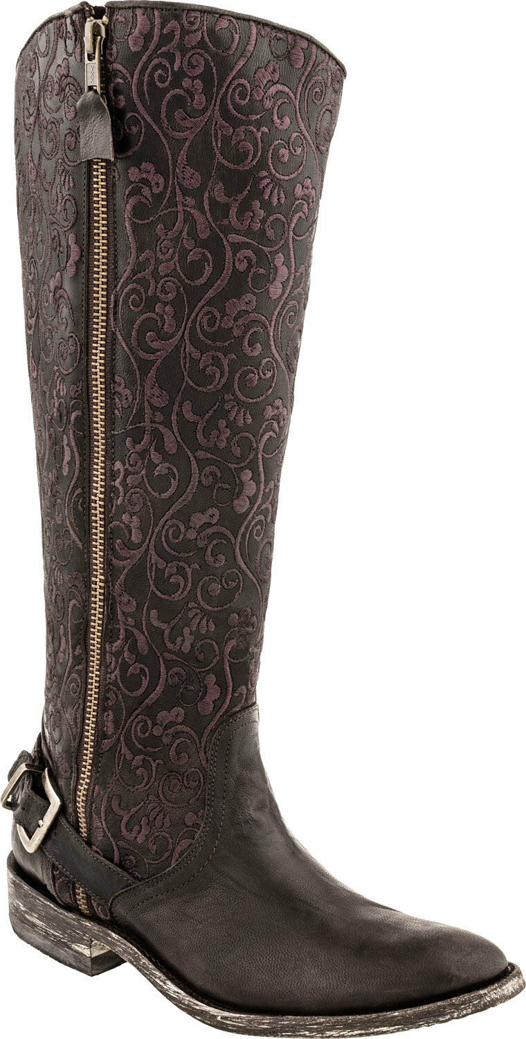 NEW IN BOX OLD GRINGO FLAMMA L1068-2 Donna CHOCOLATE BROWN WESTERN BOOTS