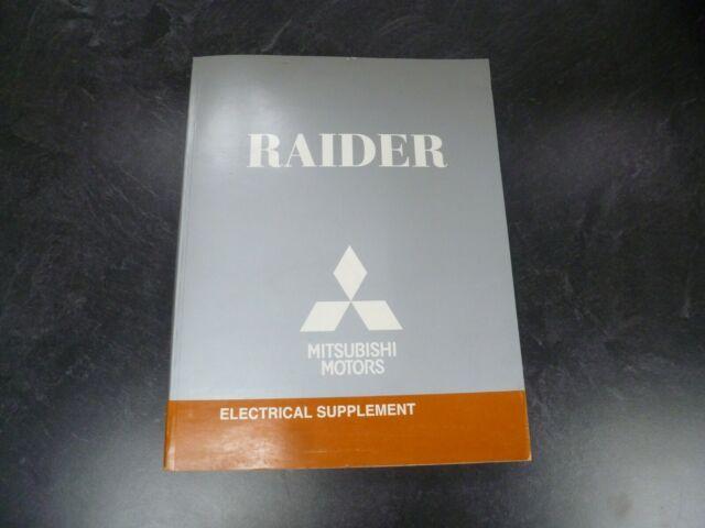 2009 Mitsubishi Raider Truck Electrical Wiring Diagrams