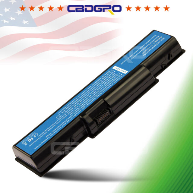 New 6 Cell D525 Battery for Acer EMACHINE D725 E525 E625 E627 E725 AS09A31 USA