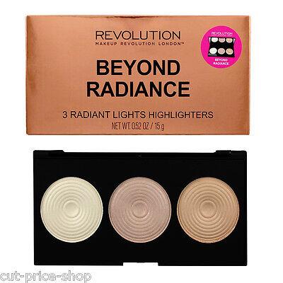 Makeup Revolution Highlighter Palette Beyond Radiance