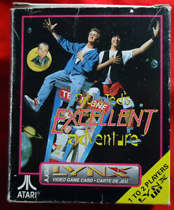 Bill-and-Ted-039-s-Excellent-Adventure-boxed-manual-Atari-Lynx-1991-PA2068