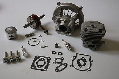 TSRC 30.5 4 Bolt Cylinder head with crankcase kit for Zenoah CY  BAJA 5B 5T 5SC