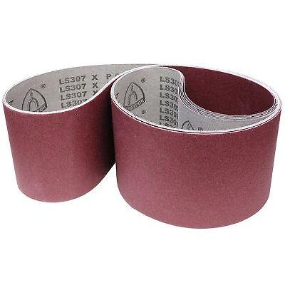 5x Klingspor Schleifbänder LS307X für Scheppach Slik 5.0b, BSM 2000, BSM 2010