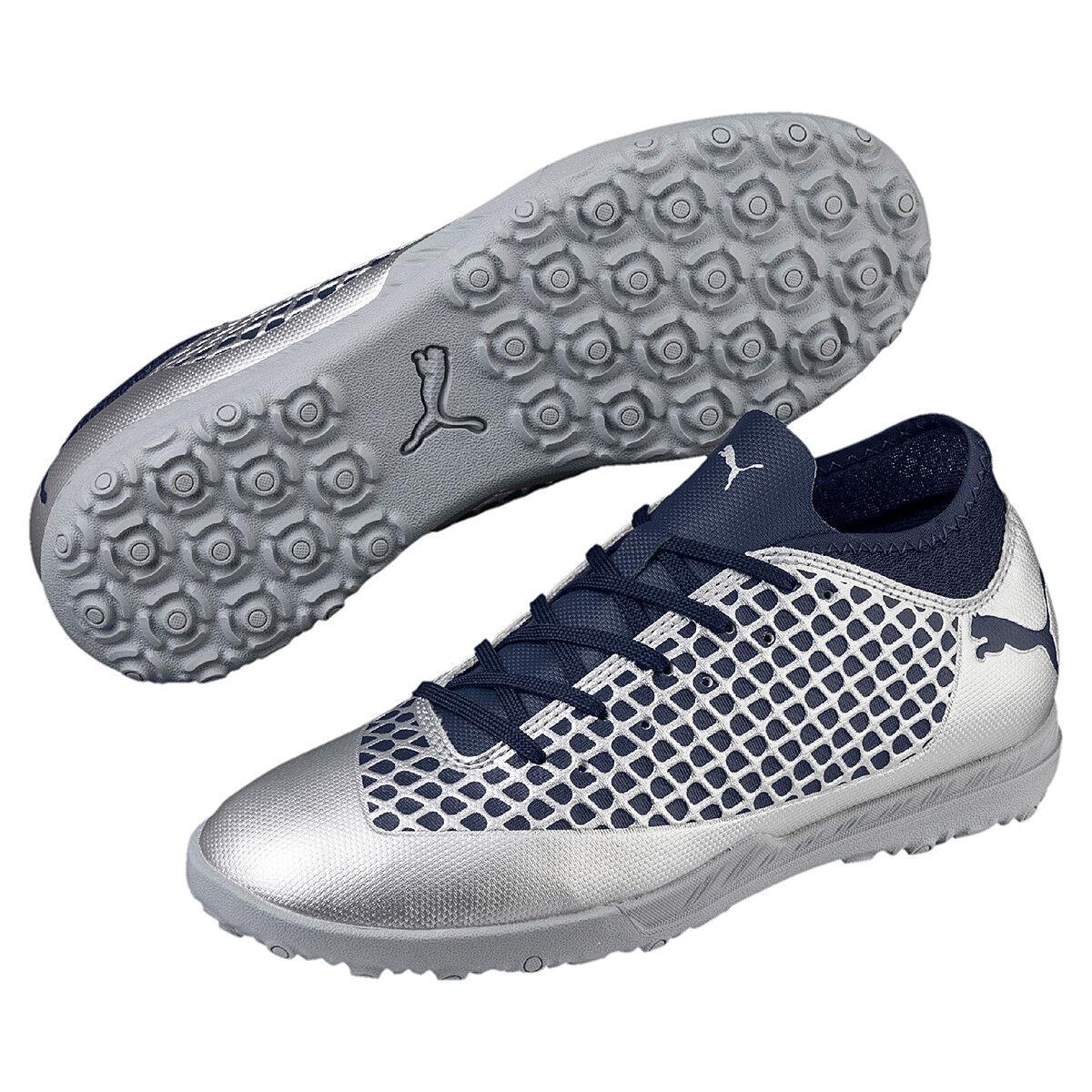 Puma Niños Zapatos de Fútbol Exterior Zapatillas para Pista Futuro 2.4 Tt Jr