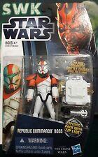 "Star WarsClone WarsClone Commando Boss3.75"" Figure CW11."