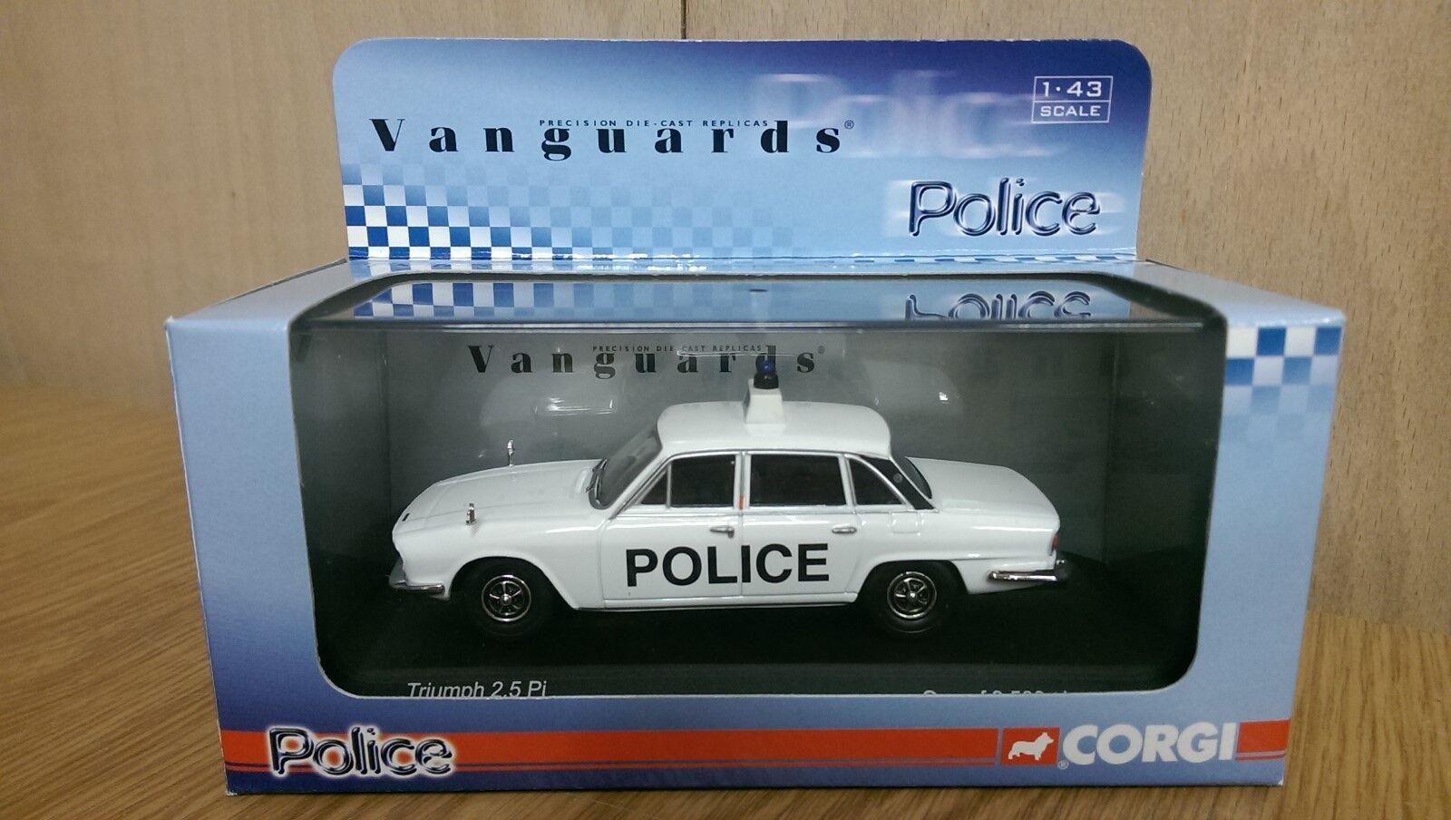 Corgi Vanguards VA08207 Triumph 2.5Pi Dorset Police Limited Edition of 3500